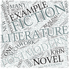 Post-modern literature Disciplines Concept