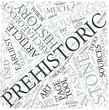 Prehistoric archaeology Disciplines Concept