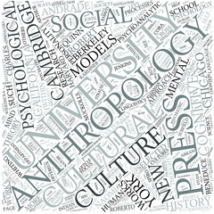 Psychological anthropology Disciplines Concept