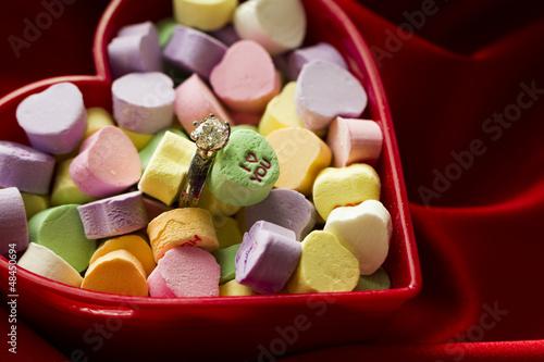 Canversation Heart candies