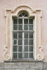 Ramshackle Palace Window