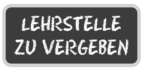 Sticker TF eckig oc LEHRSTELLE ZU VERGEBEN
