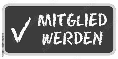 CB-Sticker tafel oc MITGLIED WERDEN