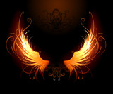 fiery wings
