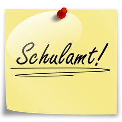 Post-It Schulamt