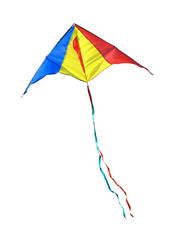 Kite on a white background