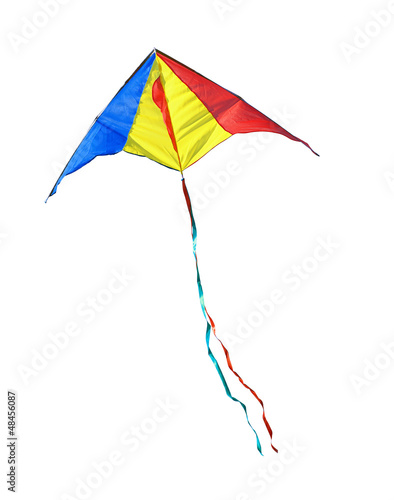 Kite on a white background - 48456087