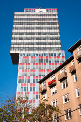 Bratislava urban buildings