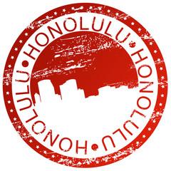 Stamp - Honolulu, Hawai, USA