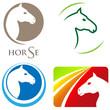Pferde - Zeichen / Logos