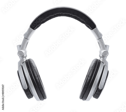 Stylish Silver DJ Headphones