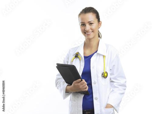 Female Doctor Plakat