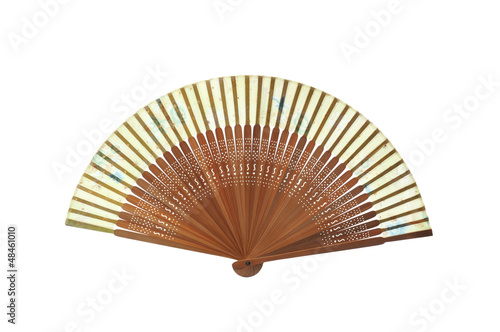fan isolated on white