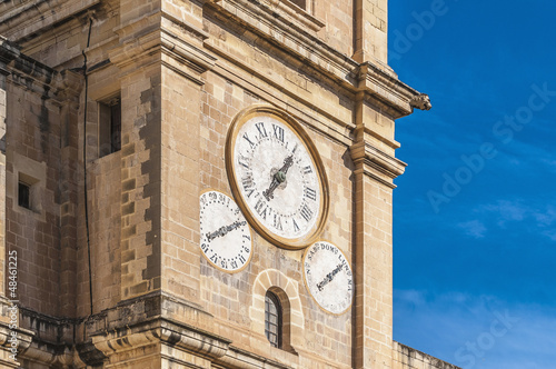 Saint John's Co-Cathedral in Valletta, Malta