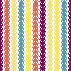 EPS10 file. Seamless retro geometric pattern