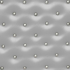 Gray leather pattern with knobs,Texture for Background