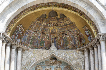 Mosaic of St Mark's Basilica