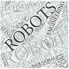 Robotics Disciplines Concept