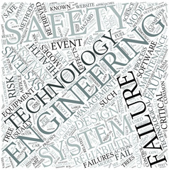 Safety engineering Disciplines Concept