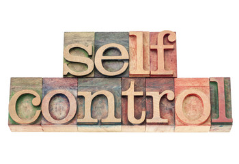 self control in wood type