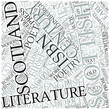 Scottish literature Disciplines Concept