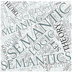 Semantics Disciplines Concept