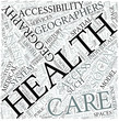 Health geography Disciplines Concept