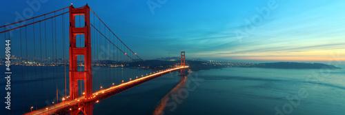 Tuinposter San Francisco Golden Gate Bridge