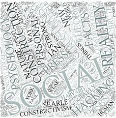 Social constructionism Disciplines Concept