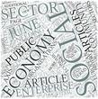 Social economy Disciplines Concept