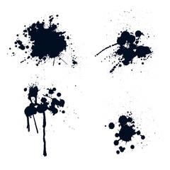 Ink splatters