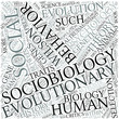 Sociobiology Disciplines Concept
