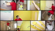 Painting Contractor at Work - Interior Decoration