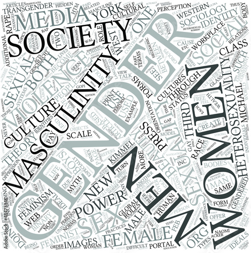 Sociology of gender Disciplines Concept