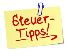 Steuer Tipps  #130112-sv