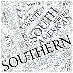 Southern literature Disciplines Concept