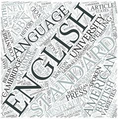 Standard English Disciplines Concept
