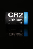 CR2 Lithium Battery - reflection