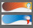 Abstract banner vector illustration