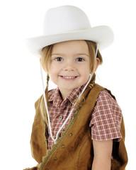Closeup Cowgirl