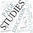 Sustainability studies Disciplines Concept