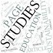 Sustainability studies Disciplines Concept