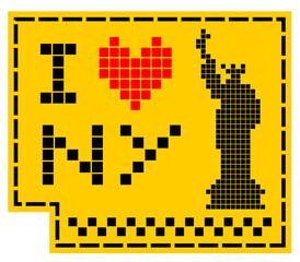 I love New York sticker