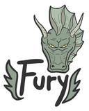 Fury draw design poster