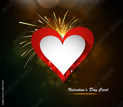 Valentin`s Day card celebration Vector colorful background