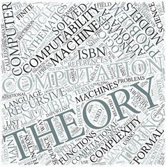 Theory of computation Disciplines Concept