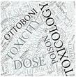 Toxicology Disciplines Concept