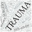 Traumatology Disciplines Concept
