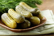 Pickles salted cucumbers pickled vegetables still-life