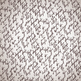 Abstract seamless diagonal hand write pattern
